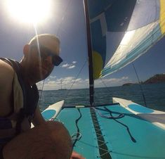 There's nothing quite like setting adrift on the ocean waves. Laze in the pristine turquoise waters of our calm bay in a kayak or make it more adventurous and learn to sail or windsurf! Photo Courtesy of Wing Nut Racing who learnt to sail at Carlisle Bay on the 10th December!