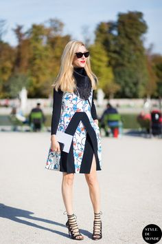 Joanna Hillman Street Style Street Fashion Streetsnaps by STYLEDUMONDE Street Style Fashion Photography
