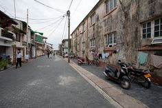 Rua de Forte Galle no Sri Lanka.  Fotografia: Horvath Bence no Flickr.
