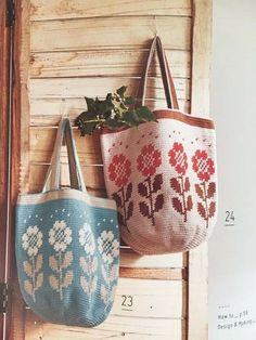 Crochet World, Crochet Books, Knit Crochet, Crotchet Bags, Knitted Bags, Crochet Doll Tutorial, Tapestry Crochet Patterns, Tapestry Bag, Crochet Magazine