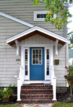 Find this Pin and more on Exterior Color Schemes. & Wooden door canopy porch canopy: | garden / ogród | Pinterest ...