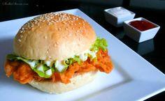 Słodka Strona: Domowy Zinger KFC Kfc, Hamburger, Sandwiches, Chicken, Ethnic Recipes, Food, Gastronomia, Essen, Burgers