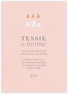 Baby Bottles   Meringue   Paperless Post