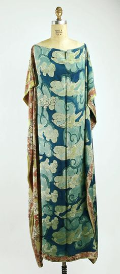 Negligée Raymond Duncan, 1929 The Metropolitan Museum of Art