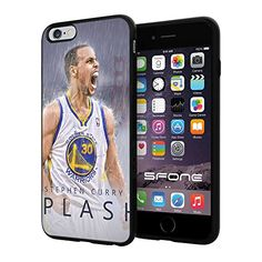 """NBA All Star Stephen Curry , Cool iPhone 6 Plus (6+ , 5.5"""") Smartphone Case Cover Collector iphone TPU Rubber Case Black SHUMMA http://www.amazon.com/dp/B00WTP3PUG/ref=cm_sw_r_pi_dp_8feqvb111WJ0S"""
