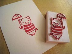 Rubber Stamp Carvings with LoveSprouts / SATURDAY | Peatix