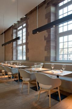 Les Haras Restaurant France Designed by Jouin Manku