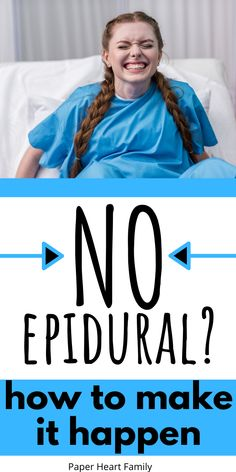 Do you want to have an unmedicated birth without an epidural? This post will ease your worries and give you tips to help you have the birth that you want. Prenatal Workout, Pregnant Diet, Preparing For Baby, Natural Birth, Parenting Advice, Single Parenting, All Family, Newborn Care, Kids Nutrition