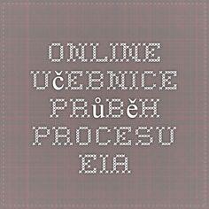 EIA - Online učebnice - Průběh procesu EIA Math Equations