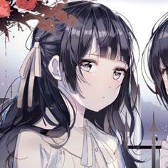 Emo Anime Girl, Anime Angel Girl, Kawaii Anime Girl, Friend Anime, Anime Best Friends, Anime Sisters, Anime Friendship, Cute Anime Coupes, Anime Couples Drawings