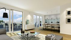 """Die gehobene Ausstattung der Eigentumswohnungen von """"Sophie"""" verleiht diesen ein hohes Maß an Lebensqualität."""