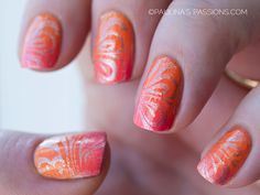 Sunset Gradient with stamping