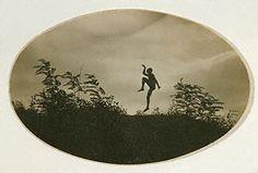 The Dancing Faun (Eugenio Kertész), André Kertész, 1919. © Estate of André Kertész