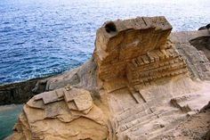 """The Phoenician Stone Quarry """"Atlantis"""" – Ibiza Atlantis, Ibiza Formentera, Stone Quarry, Tourist Center, Ibiza Beach, New Earth, Beautiful Places, Old Things, Around The Worlds"""