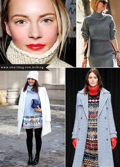 Com o inverno chegando, roupas com gola rolê são uma ótima opção! Confira no Blog da Smartbag.  #inverno2014 #sportchic #preppy
