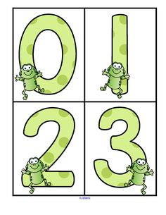 This is a set of large numbers designed with a Frogs theme. Use to create matching, recognition and number sequence games and activities for preschool and Kindergarten children. Large enough to use for bulletin boards and room décor. Kindergarten Math Activities, Preschool Lessons, Fun Math, Sequence Game, Number Sequence, Interactive Learning, Kids Learning, Teaching Tools, Teacher Resources