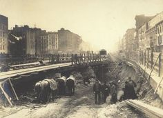 14 Photos Of The Subway System Under Construction, 1901-1931: Gothamist