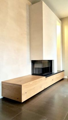fireplace ideas with tv Fireplace Tv Wall, Brick Fireplace Makeover, Modern Fireplace, Living Room With Fireplace, Living Room Decor, Fireplace Ideas, Contemporary Fireplace Designs, Freestanding Fireplace, Master Bedroom Interior