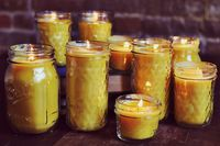 Ashley sent me this crafty blog, some good ideas, I think bees wax candles could be fun!