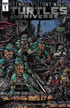 eXpertComics offers a wide choice of IDW products, like the TMNT Universe #1…