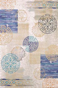 United Weavers Designer Marquee Rustic Coastal Rugs | Rugs Direct