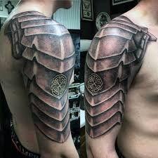 Resultado de imagen para armor shoulder tattoo