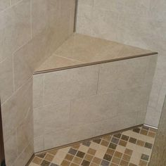 Tiled Shower Niche With Schluter Trim Tile Projects In