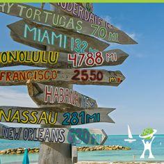 Dica de passeio em Key West: Para quem estiver em Miami e quiser conhecer praias com águas cristalinas e uma cidade super charmosa, não pode deixar de fazer uma parada em Key West! É a cidade mais meridional da parte continental dos Estados Unidos, estando apenas a 90 milhas de Cuba. As atividades aquáticas são as principais opções de lazer da cidade: mergulho, scuba-diving, passeios de barco e jet ski!  #turismo #usa #épravidatoda #travelmatebrasil