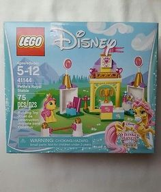 LEGO 41144 Disney Whisker Haven Palace Pets Petite's Royal Stable 75pc NEW