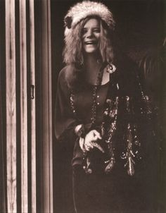 Janis Joplin  ~  27 . . .  to young to leave. I wish she had known how beautiful she was. Beautiful eyes, such an innocently pretty smile