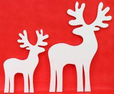 Renifer świąteczny, duży,  2 sztuki  HIT!