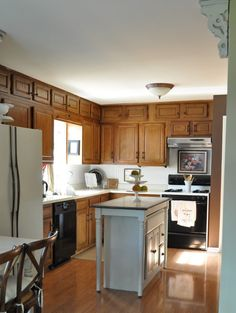 Fresh Our Home Before us And After us regarding Split Level Kitchen Remodel