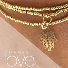 Love love love this triple layer beaded hamsa bracelet by #motekcollection #freeshipping DM OR EMAIL to purchase #hamsa #love