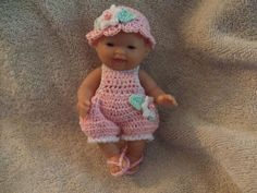 Crochet Pattern for 5 Inch Bergenguer Baby A Sun by alcarrico32, $3.99