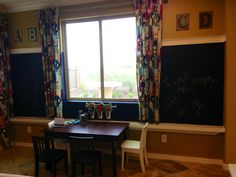 Kid's home school room