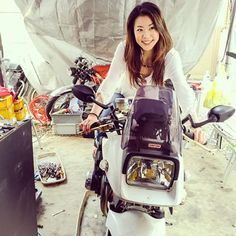 粋な雰囲気😍カタナかっこいい❤ #BMW #S1000RR #AmiKimura #motorcycle #bike #model #rider #writer #オートバイ #バイク #木村亜美 #モデル #ライダー #ライター #SUZUKI #KATANA #刀