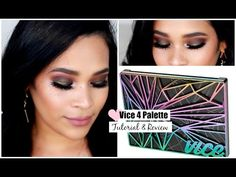 Urban Decay Vice 4 Palette Makeup Tutorial & Mini Review Fall Makeup Tutorial MissLizHeart - YouTube