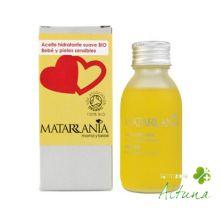 Aceite masaje bio econ vegan para bebés de Matarrania en parafarmacia online Altuna