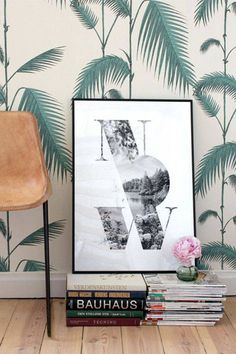How to decorate your home with the latest wallpaper trends.
