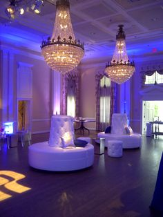 White tufted settees and couches and acrylic chairs with mirrored end tables coupled with blue up-lighting created a stylish and elegant venue at Arlington ... & Dallas Wedding Reception at Arlington Hall at Lee Park. Clear tent ... azcodes.com