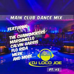 Just released the next set of our Main Club Dance Mix collection, 26 Traxx (1:26) of the hottest club songs that will get the party started. Mixed by: #djlocojoe Recorded: April 15, 2018. So enjoy, do follow, share, and tag #mainstreamclub #clubmusic #dancemusic #buffyproductions