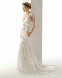 Rosa Clara 201 UBEDA Ivory/WHITE wedding gown