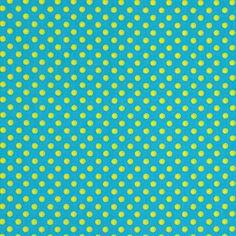Cotton Little Polka 5 - Cotton - turquoise blue