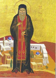 Άγιος Αρσένιος ο εν Πάρω. Saint Arsenios of Paros island. Feast Day: January 31st