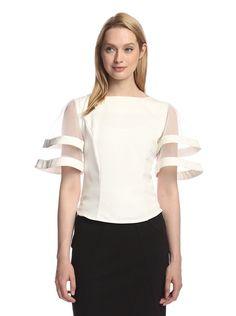 Gracia Women's Mesh Block Wide Sleeve Top, http://www.myhabit.com/redirect/ref=qd_sw_dp_pi_li?url=http%3A%2F%2Fwww.myhabit.com%2Fdp%2FB00WHV52CQ%3F