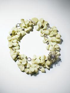 Joan Hornig Yellow Serpentine Necklace via the Bergdorf Goodman blog