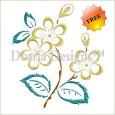 - Free Embroidery Designs - Dorria Designs