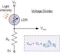 Make a Voltage Divider Circuit | Voltage divider, As and 7