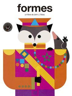 Blackie Books: Formas (John J. Reiss) - The Singular Olivia Reiss, Tapas, Arts Ed, Ex Libris, Early Childhood, Childrens Books, Playing Cards, Kids Rugs, Logos