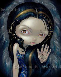 Gothic Art: Alchemical Angel V by Jasmine Becket-Griffith
